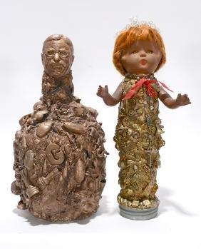 Memory Jugs. Roosevelt &Baby Doll Head.