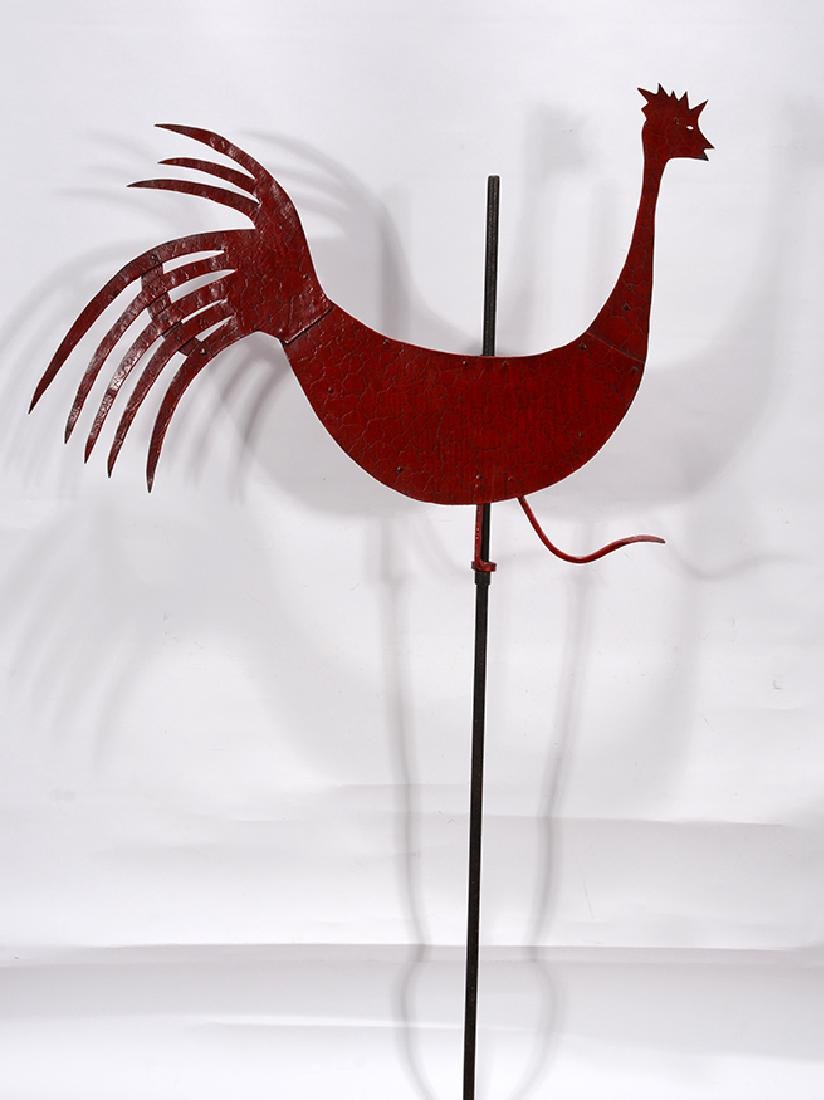 Red Rooster Weathervane.