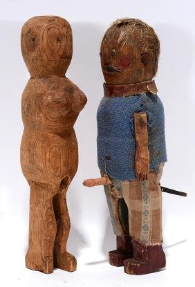 Erotic Primitive Couple.