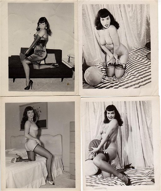 bette page nude