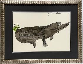 Irene Phillips. Alligator.
