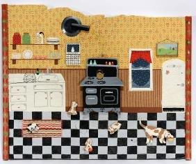 Jessica Farrell. View Inside Kitchen.
