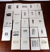 Johann Hauser 24 Numbered Prints