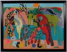 Frankie Scarborough. Jungle Parrot.