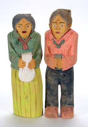 Larry Wilson. Navajo Couple.