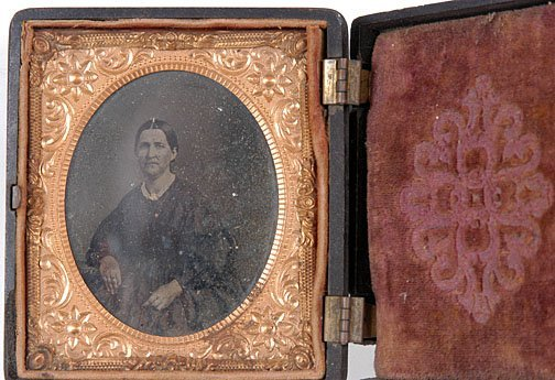 4: Woman in Oval Frame Tintype