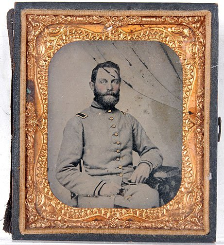 7: Civil War Soldier Ambrotype