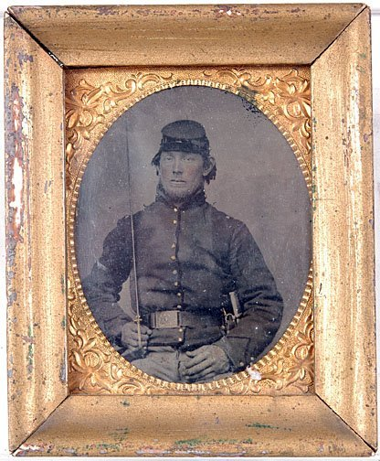 8: Civil War Soldier Tintype