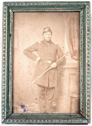 9: Union Soldier in Uniform CDV
