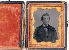 15 Young Man Ambrotype