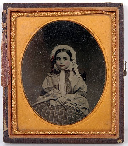 24: Small Young Girl Ambrotype