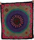 564: Mary Baxter Holt Purple Passion Rug
