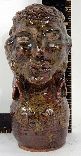 8: Marie Rogers Elvis Figurative Vessel