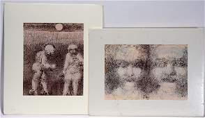 Malcolm McKesson Pair Of Works