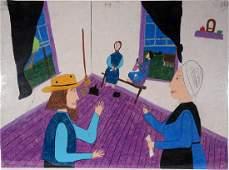 Jan Edwards. Amish Family.