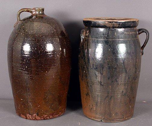 5: W.T.B. Gordy Churn and Syrup Jug.