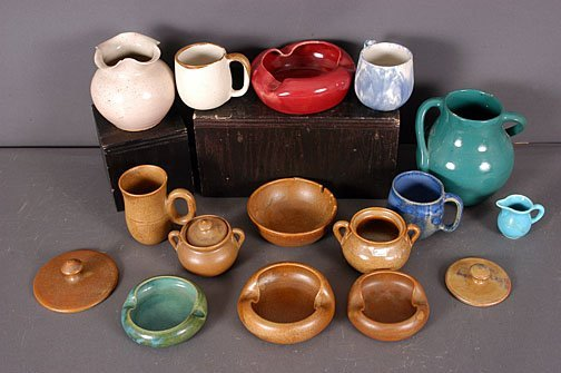 7: Georgia  Art Pottery