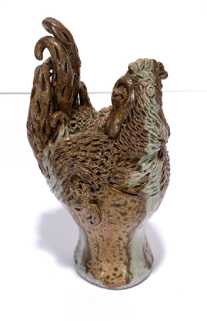 Billy Ray Hussey. Little Pottery Chicken.