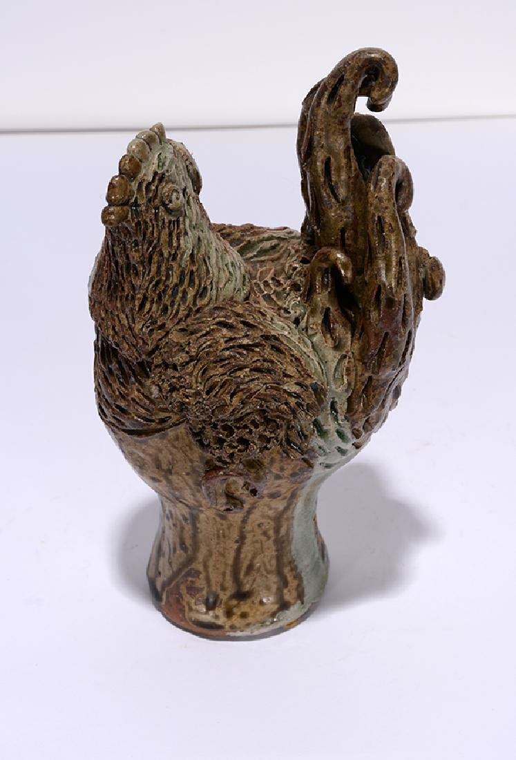 Billy Ray Hussey. Little Pottery Chicken. - 2