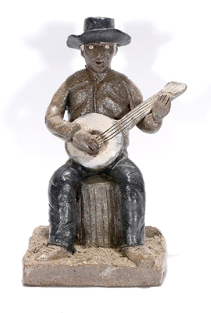 Clint Alderman. 1st Banjo Sculpture.