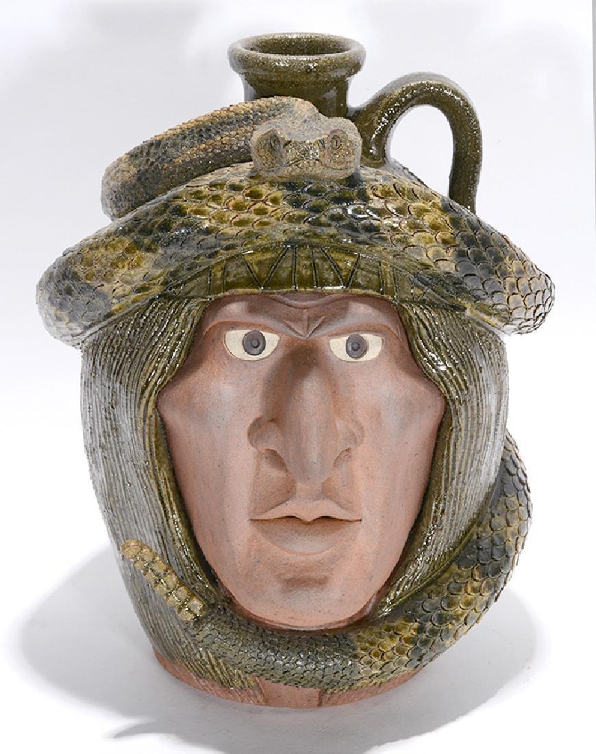 Michael & Melvin Crocker. Indian Snake Jug.