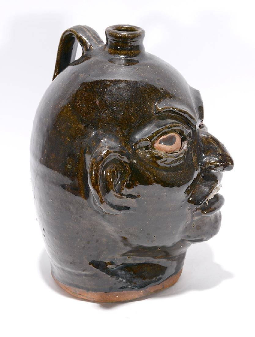 Chester Hewell. Early Face Jug. - 2