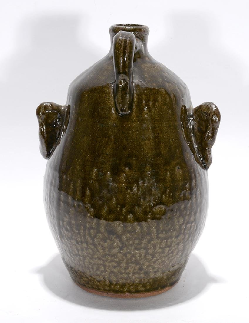 Lanier Meaders. Toothless Grin Face Jug. - 3