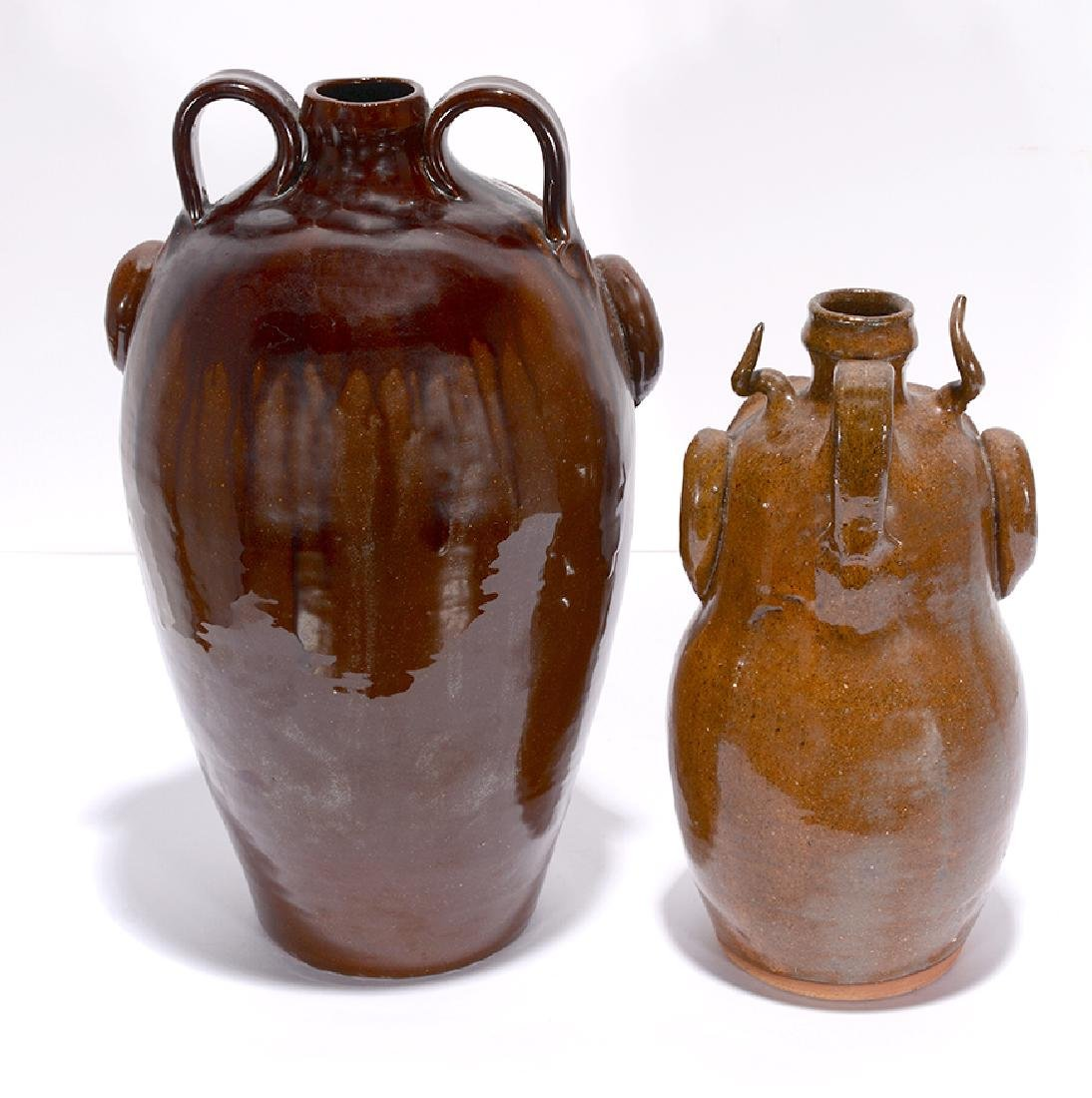 R.A. Oakland Pottery. Face Jugs. - 3