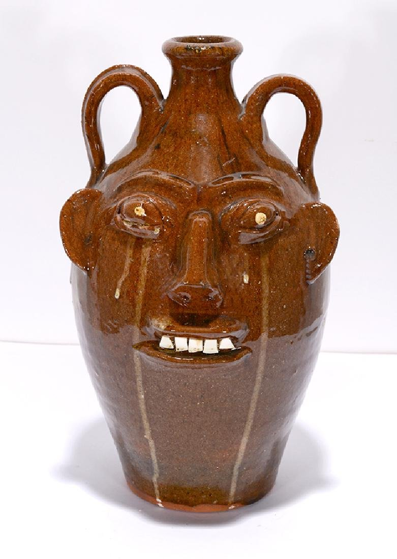Walter Fleming. Crying Eye Face Jug.