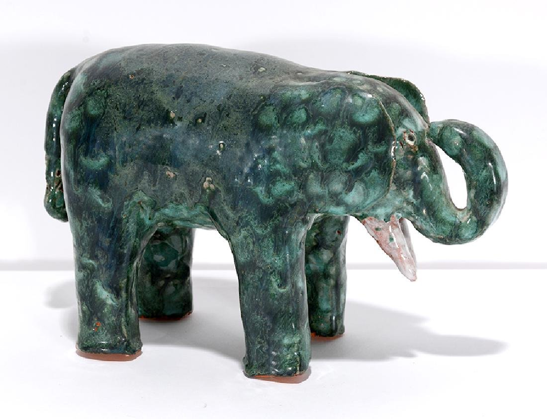 Larry Wilson. Spotted Emerald Elephant.