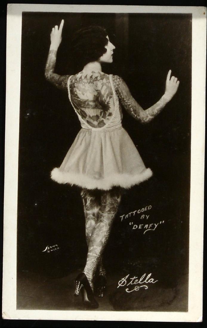 Deafy. Photo of Stella Tattooed.