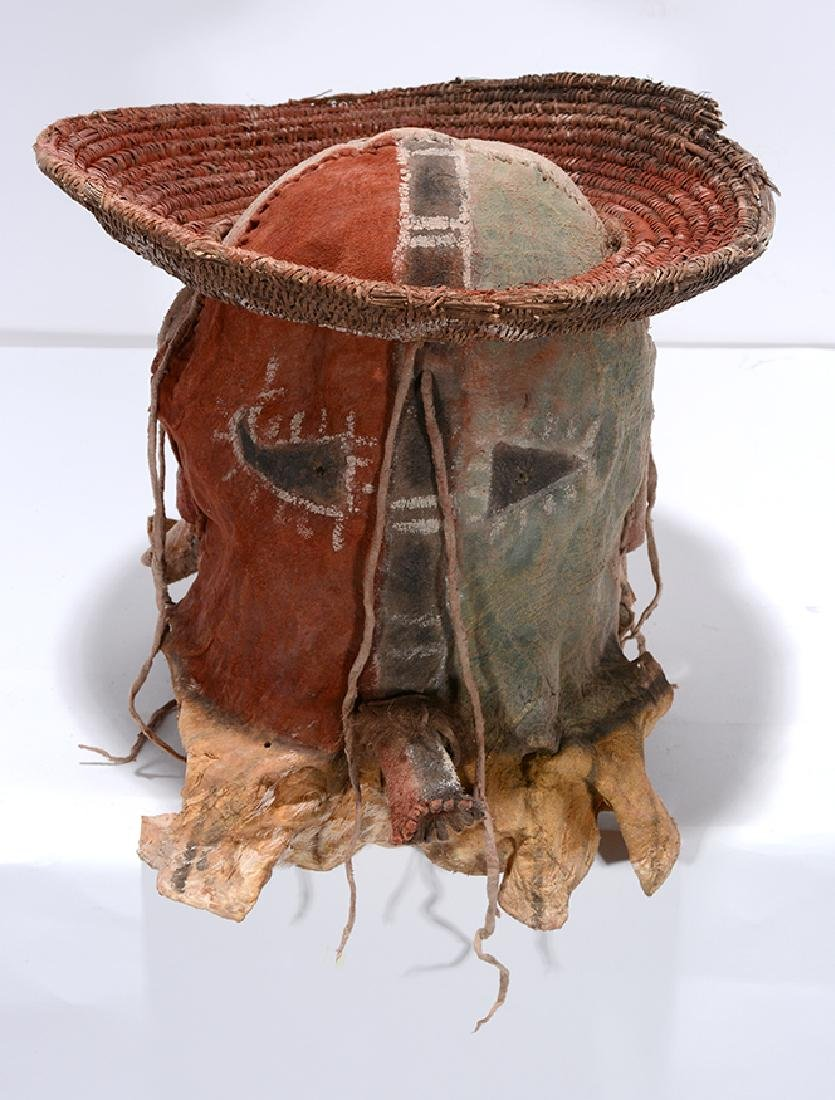 Native American. Yei Mask With Hat. - 2