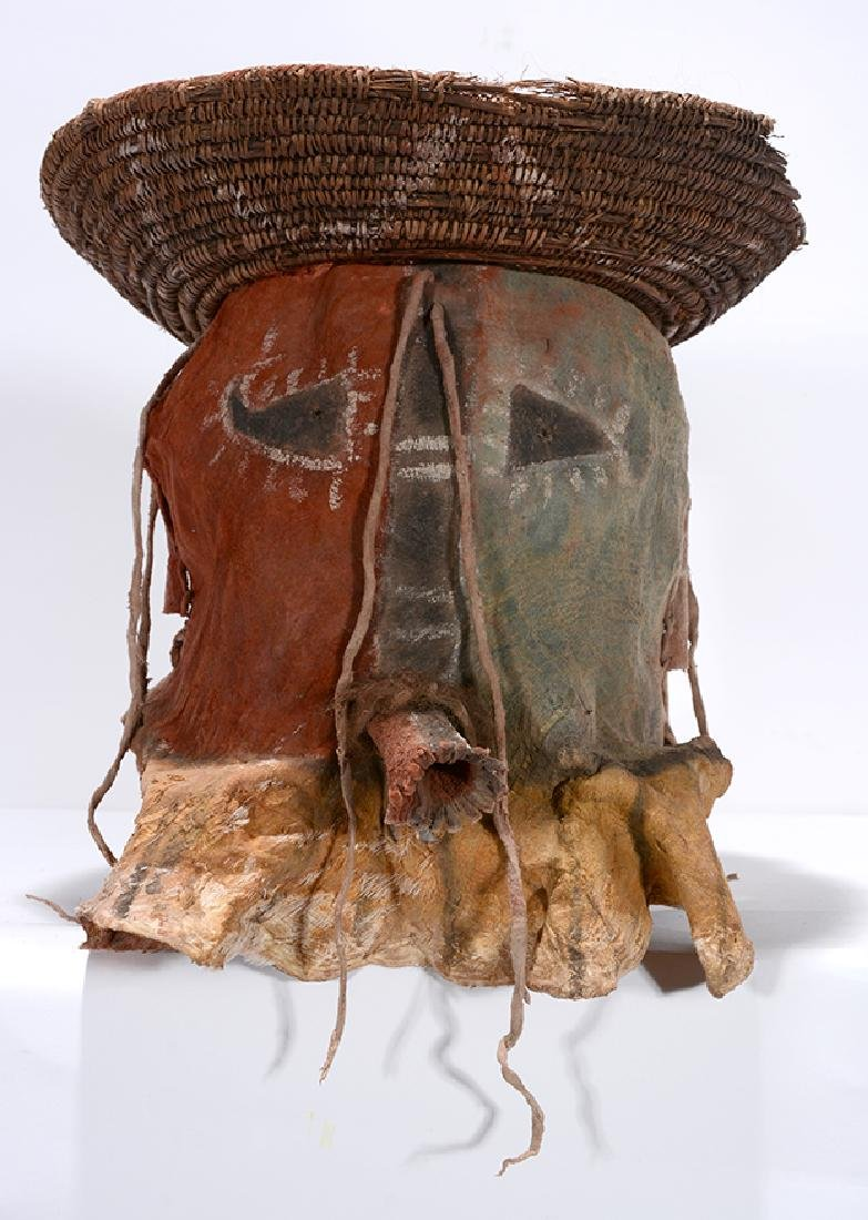 Native American. Yei Mask With Hat. - 3
