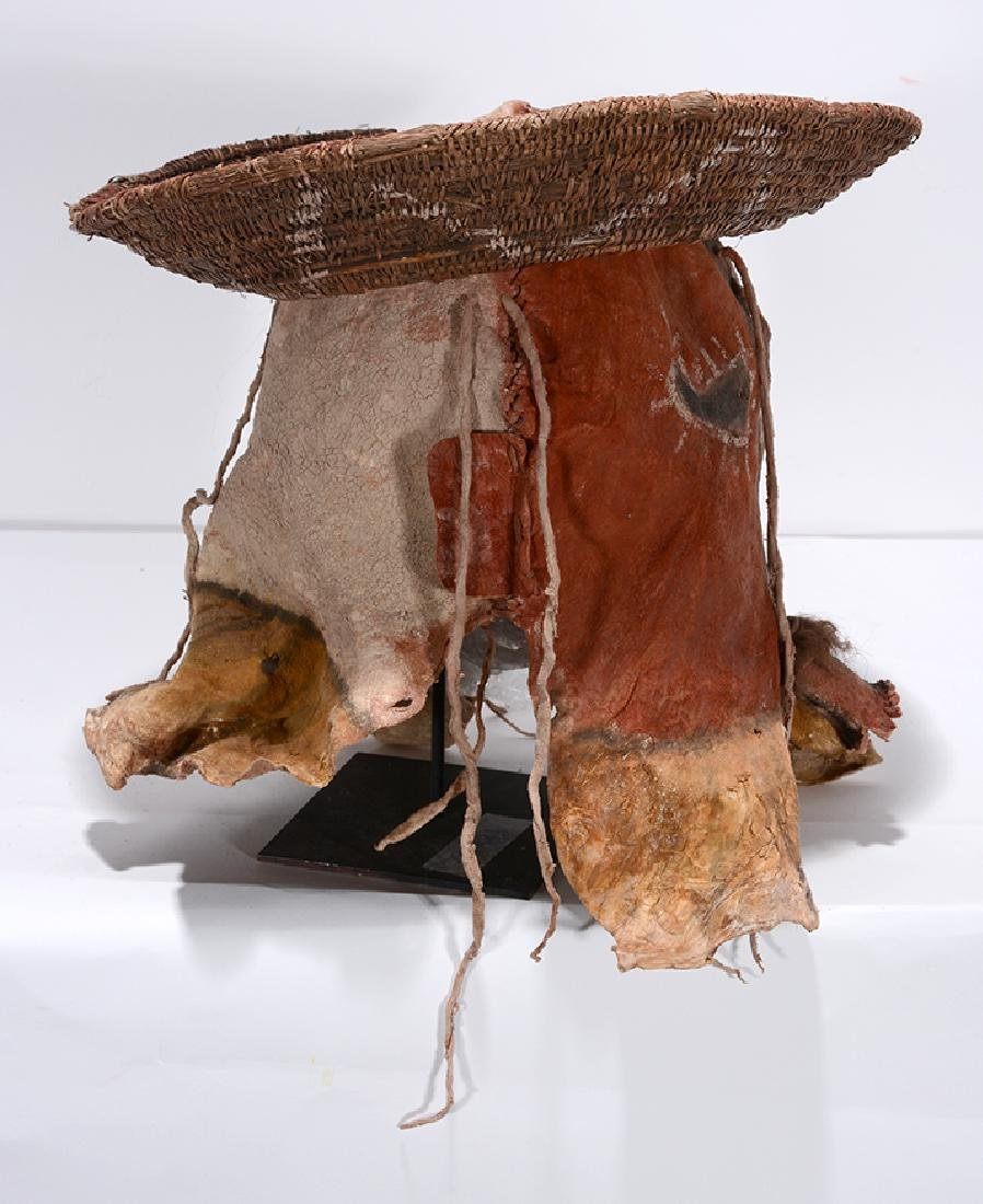 Native American. Yei Mask With Hat. - 4