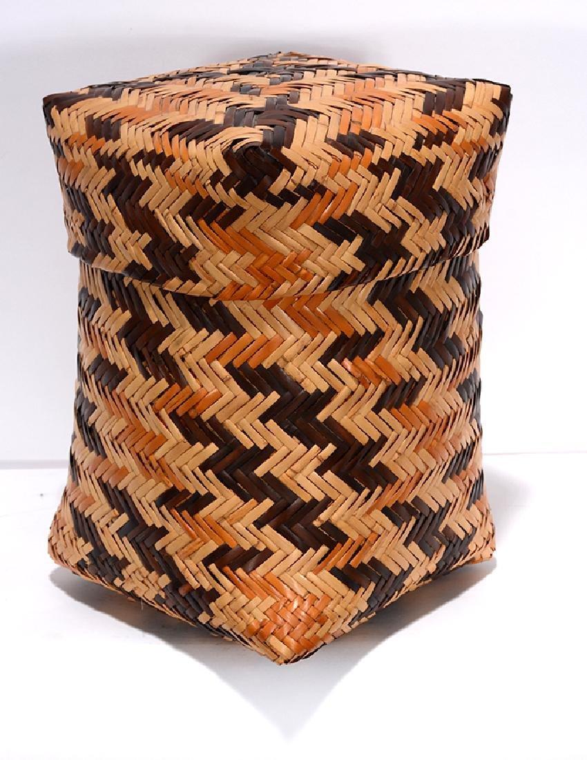 Rowena Bradley. Cherokee Storage Basket.
