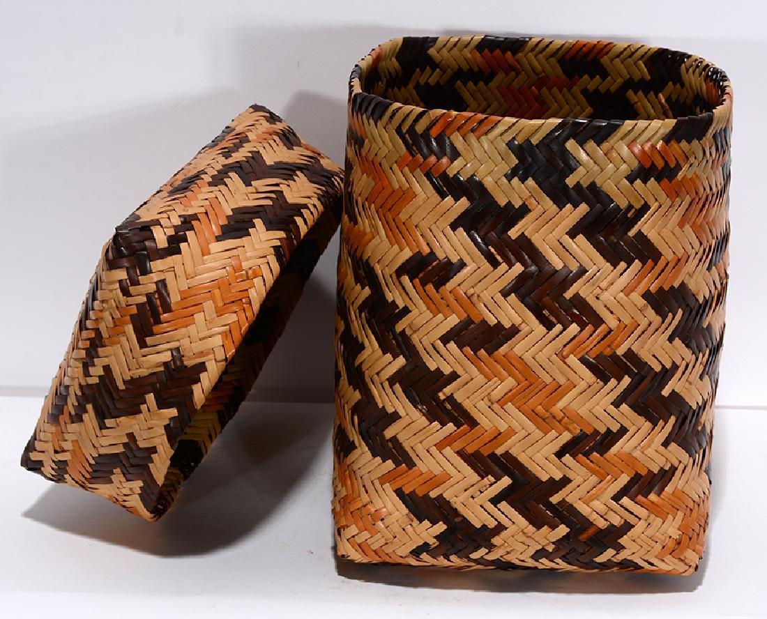 Rowena Bradley. Cherokee Storage Basket. - 3