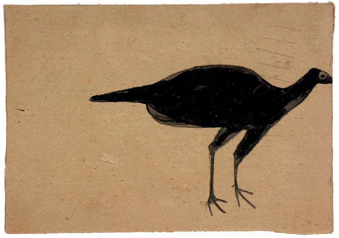 Bill Traylor. Black Turkey.