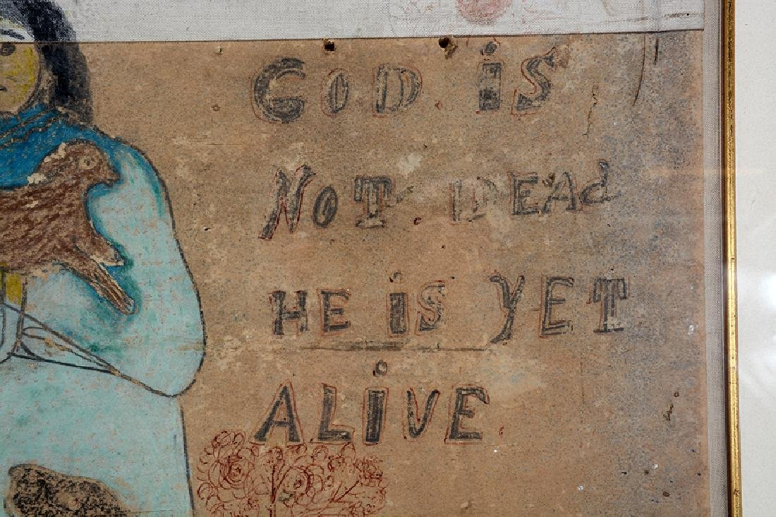 Nellie Mae Rowe. God Is Not Dead. - 5