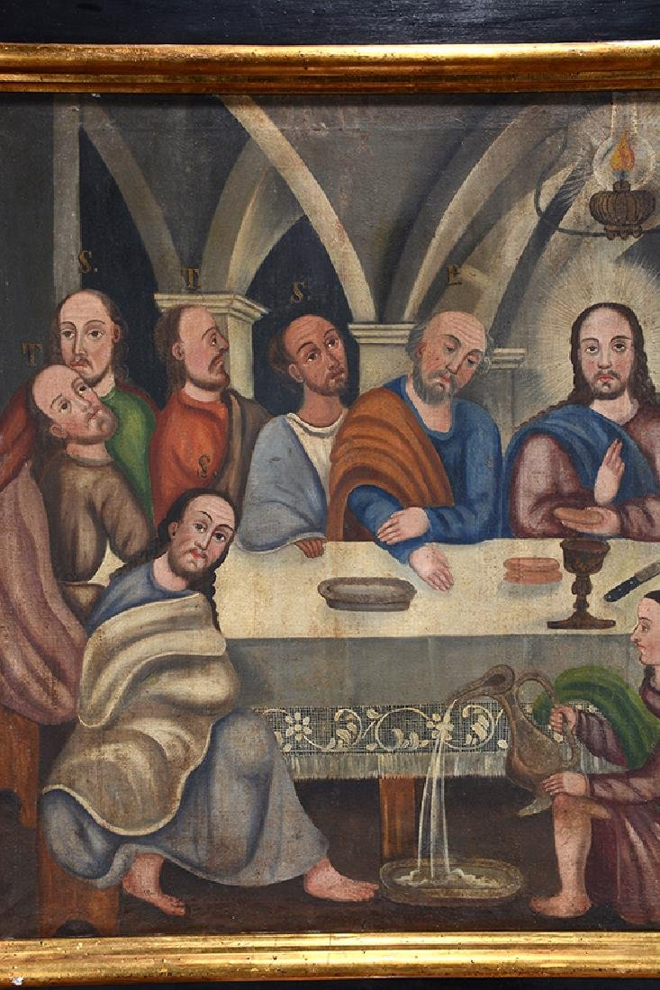 Large Painting Of The Last Supper. - 2