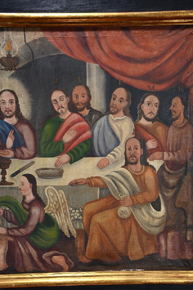 Large Painting Of The Last Supper. - 3