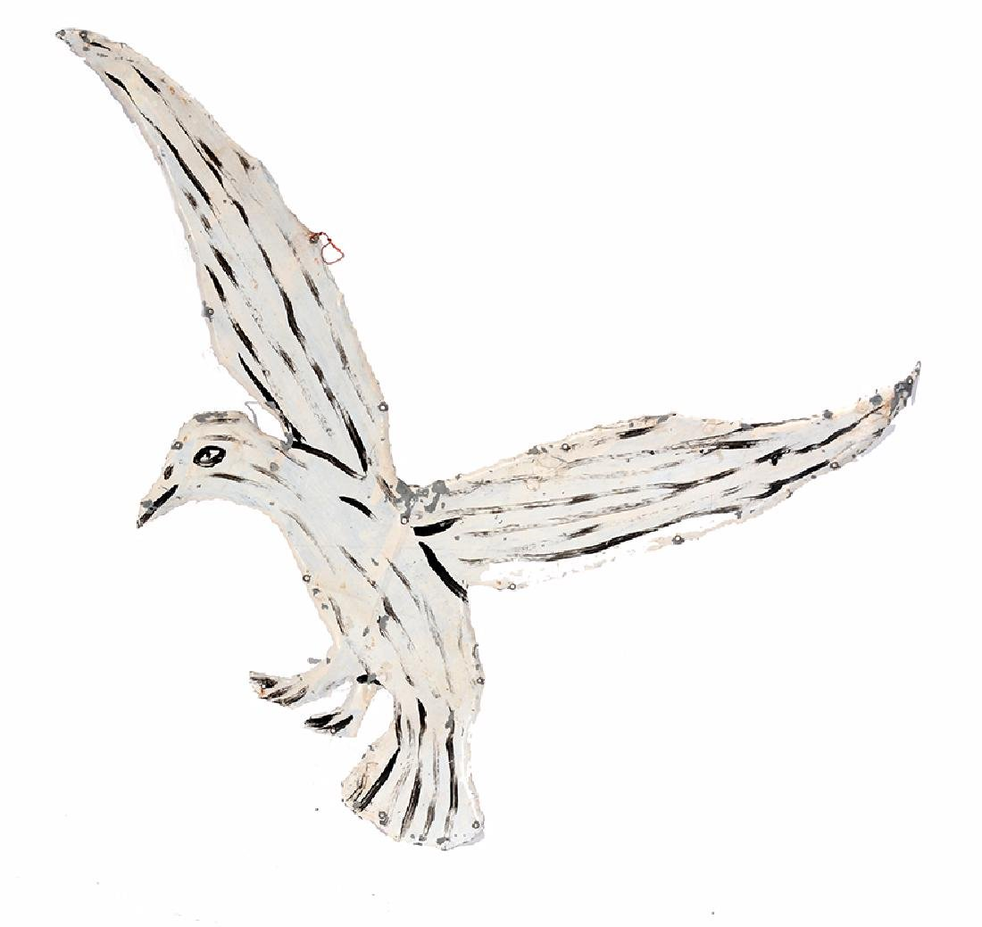 Howard Finster. White Bird. - 5