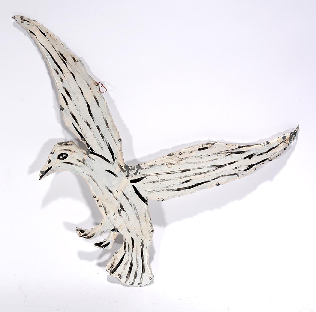 Howard Finster. White Bird.