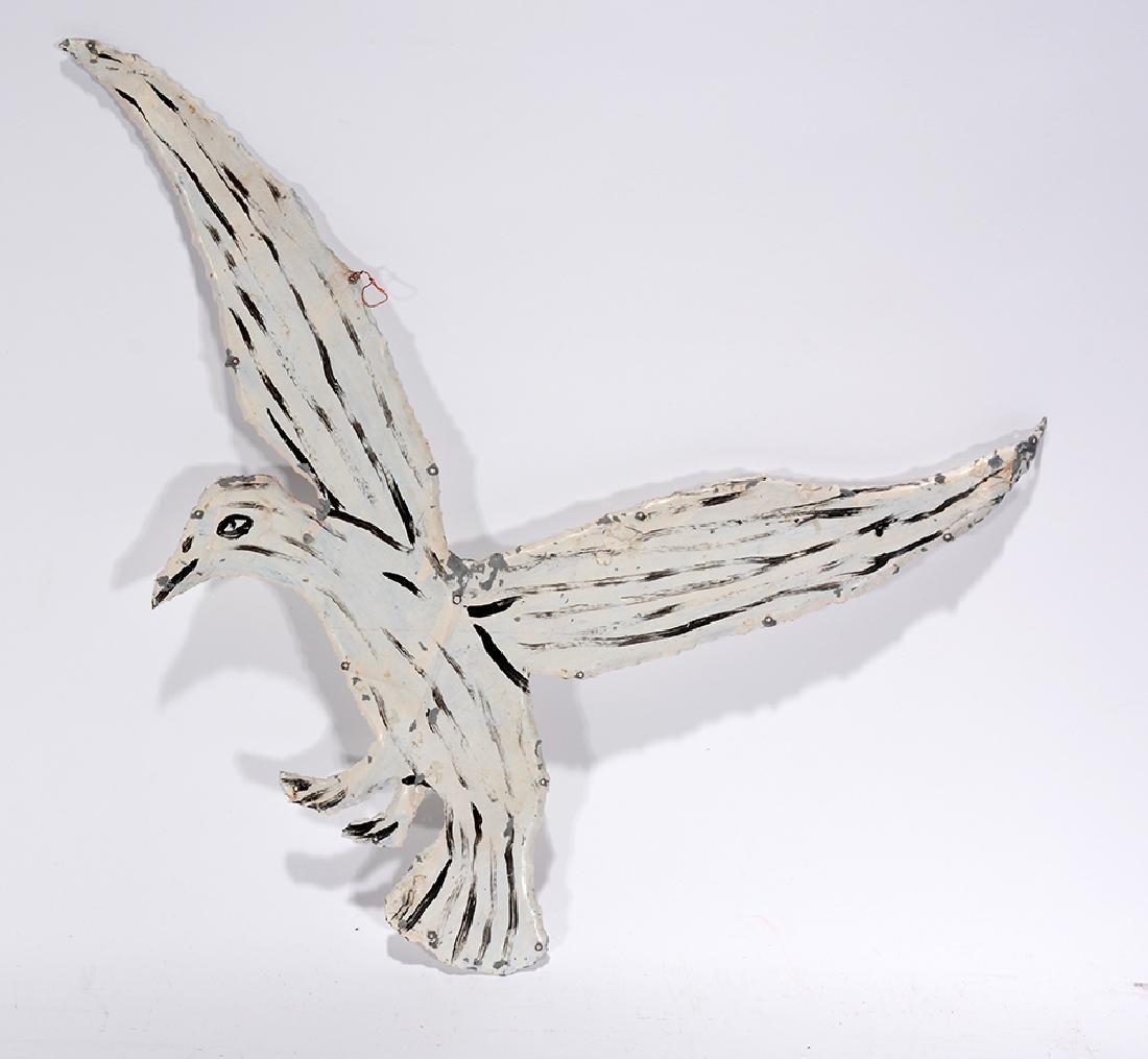 Howard Finster. White Bird. - 2