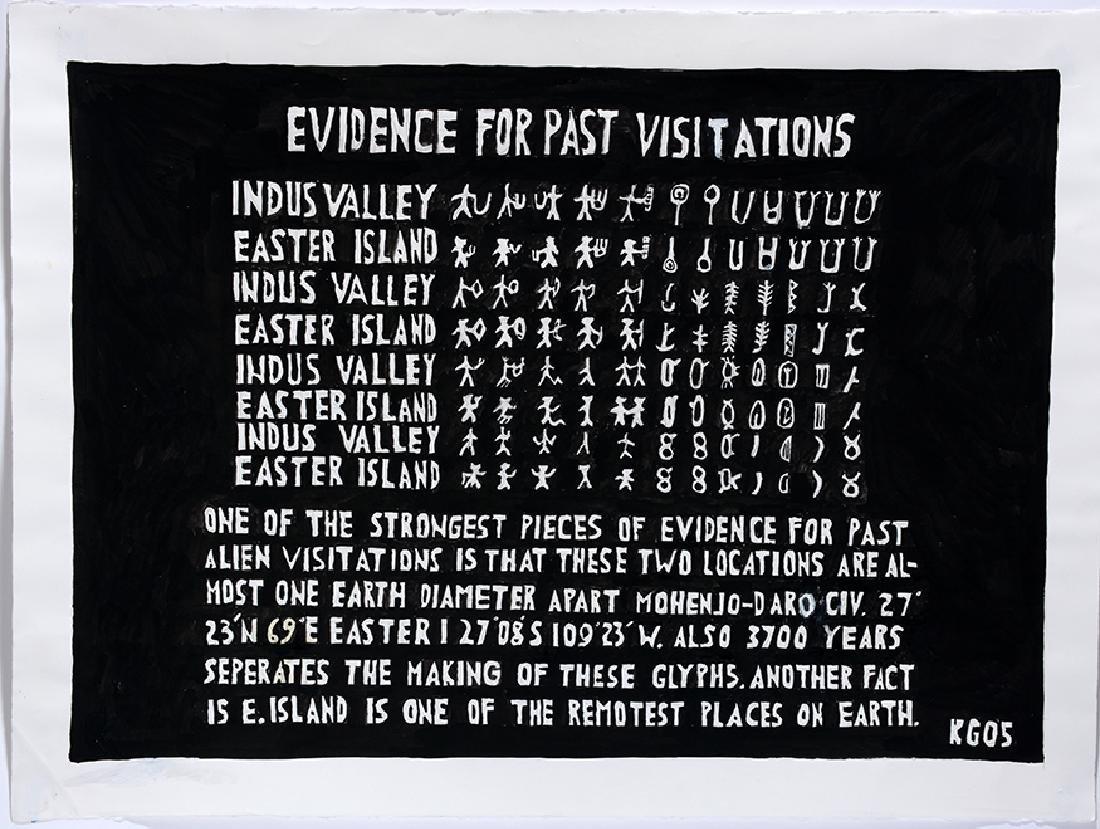 Ken Grimes. Evidence For Past Visitations.