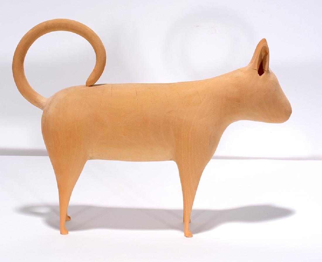 Linville Barker. Standing Cat. - 3