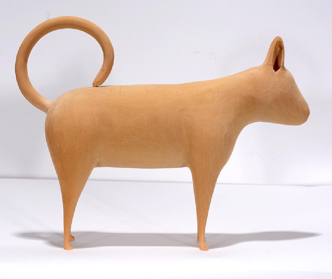 Linville Barker. Standing Cat. - 4