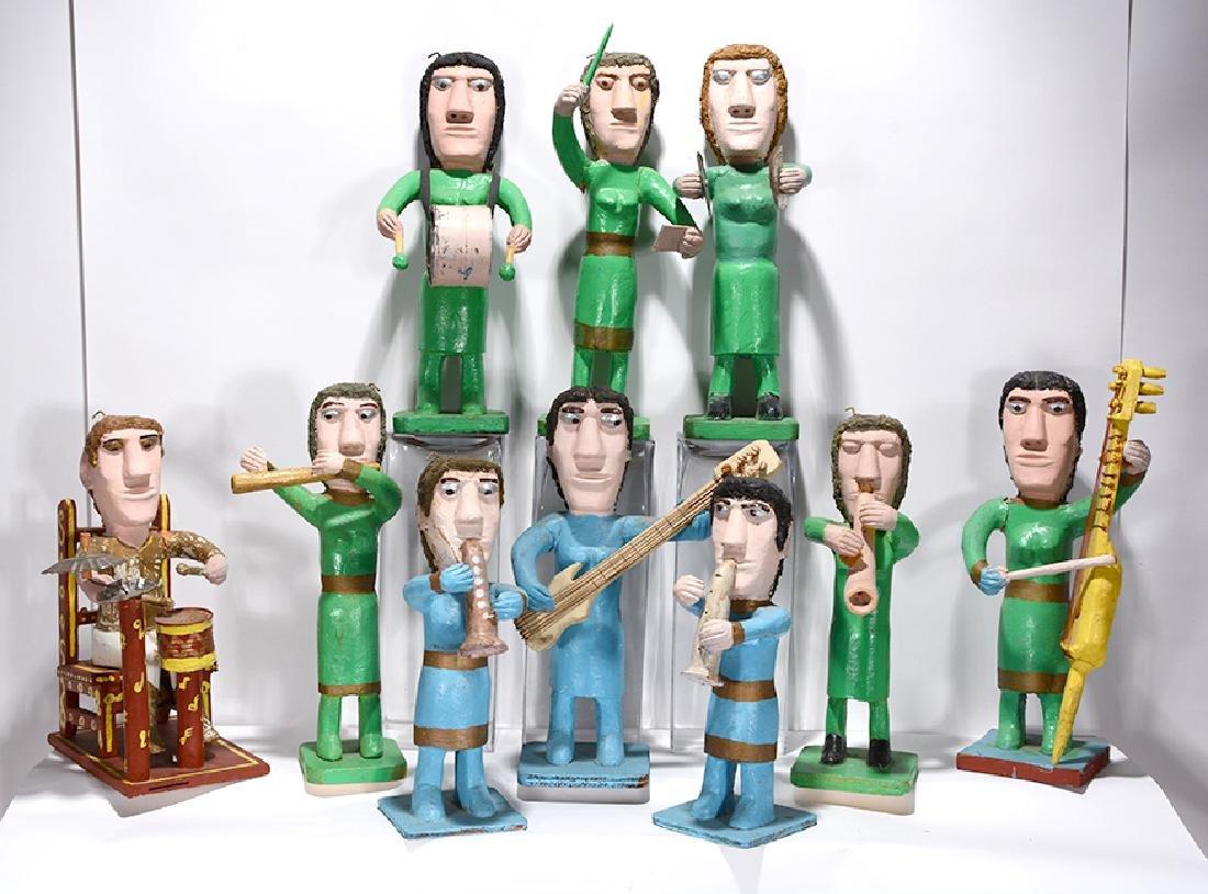John Vivolo. Ten-Piece Band.