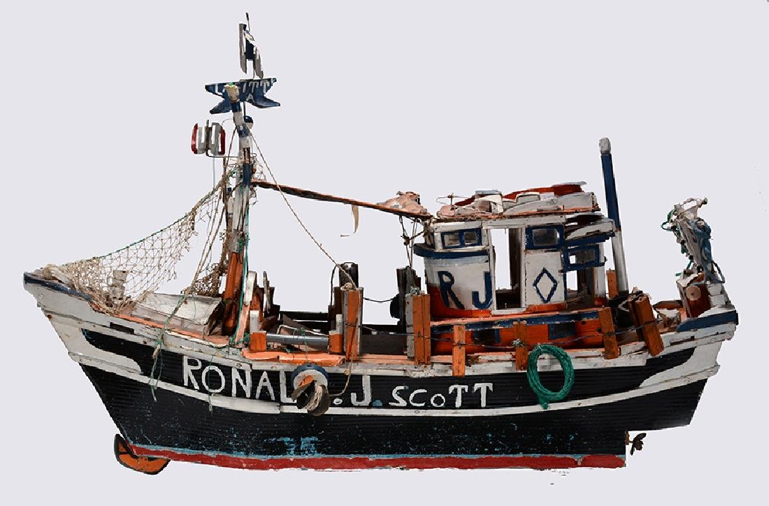 J.P. Scott. Ronald J. Scott Shrimp Boat.
