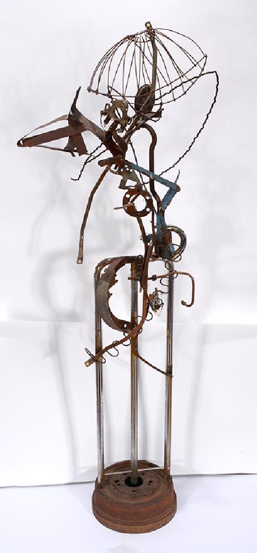 Charlie Lucas. Large Bird Sculpture.