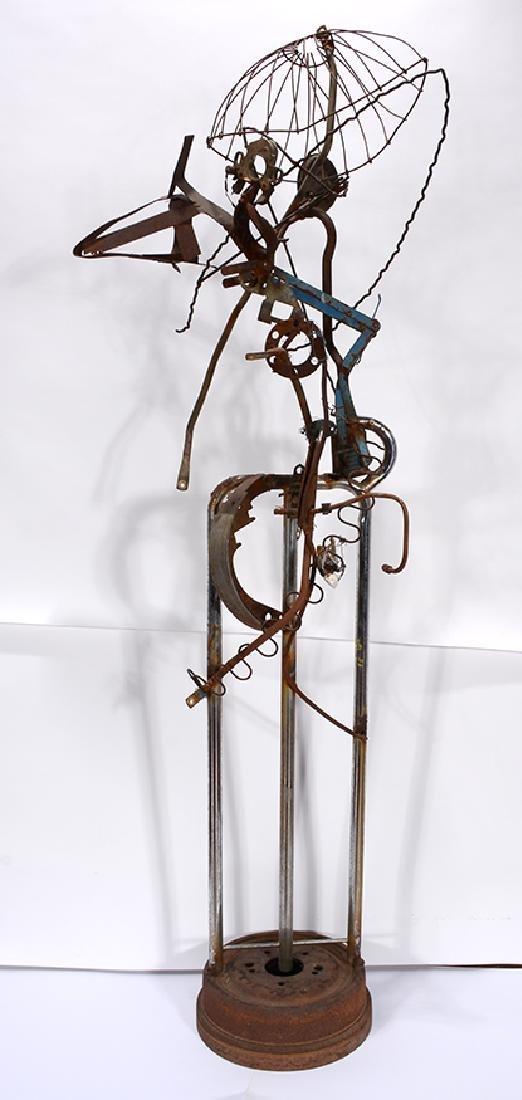 Charlie Lucas. Large Bird Sculpture. - 2